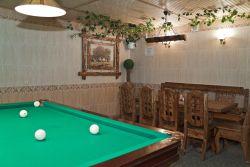 """Гостиница Можайска """"Дворик на Ямской"""": Комната отдыха в VIP сауне"""